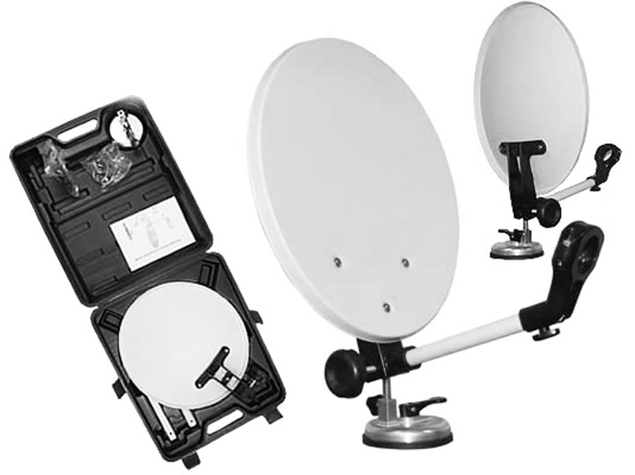 Portable 35cm Camping Satellite Dish Set