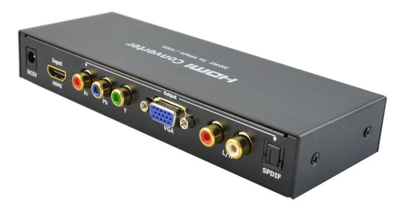HDMI to VGA / YPbPr Converter
