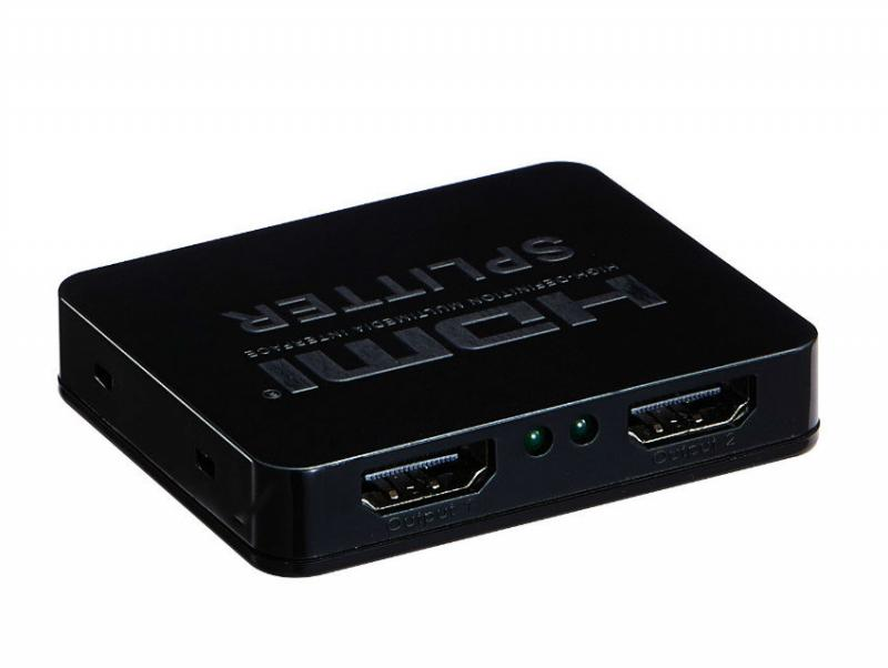 Mini 2 Way HDMI Splitter (4K Supported)