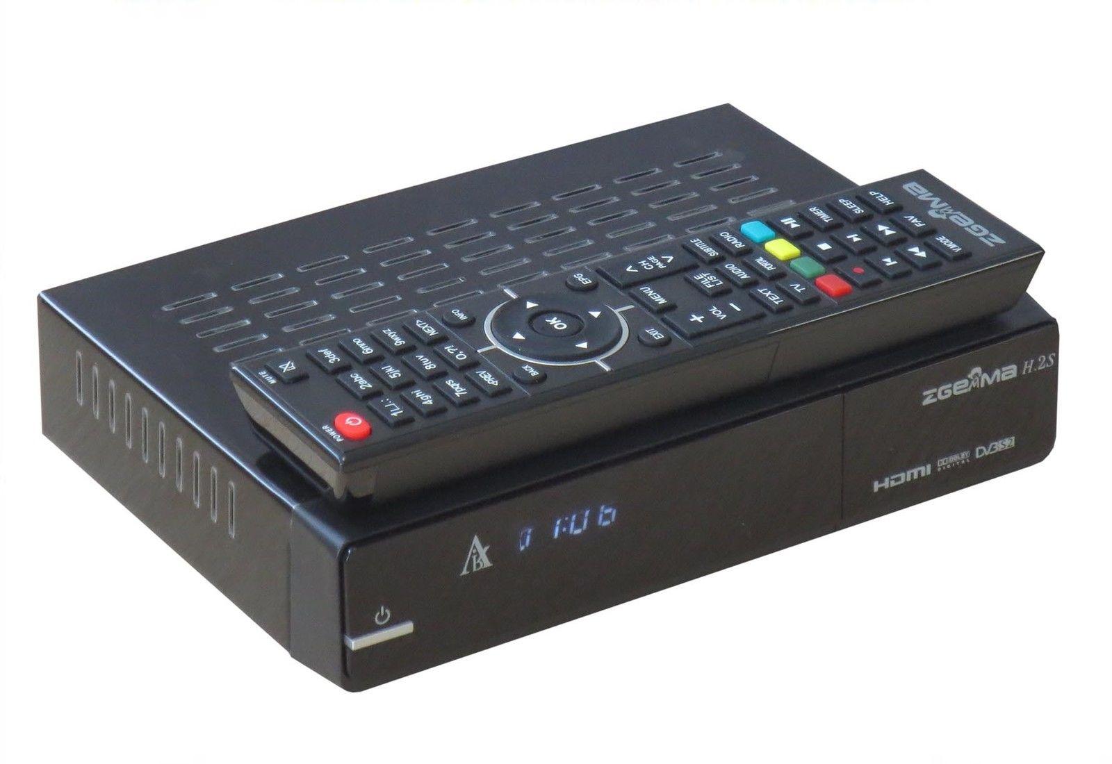 Zgemma Star H 2S Dual Core Twin Tuner Satellite Receiver Linux Enigma IPTV