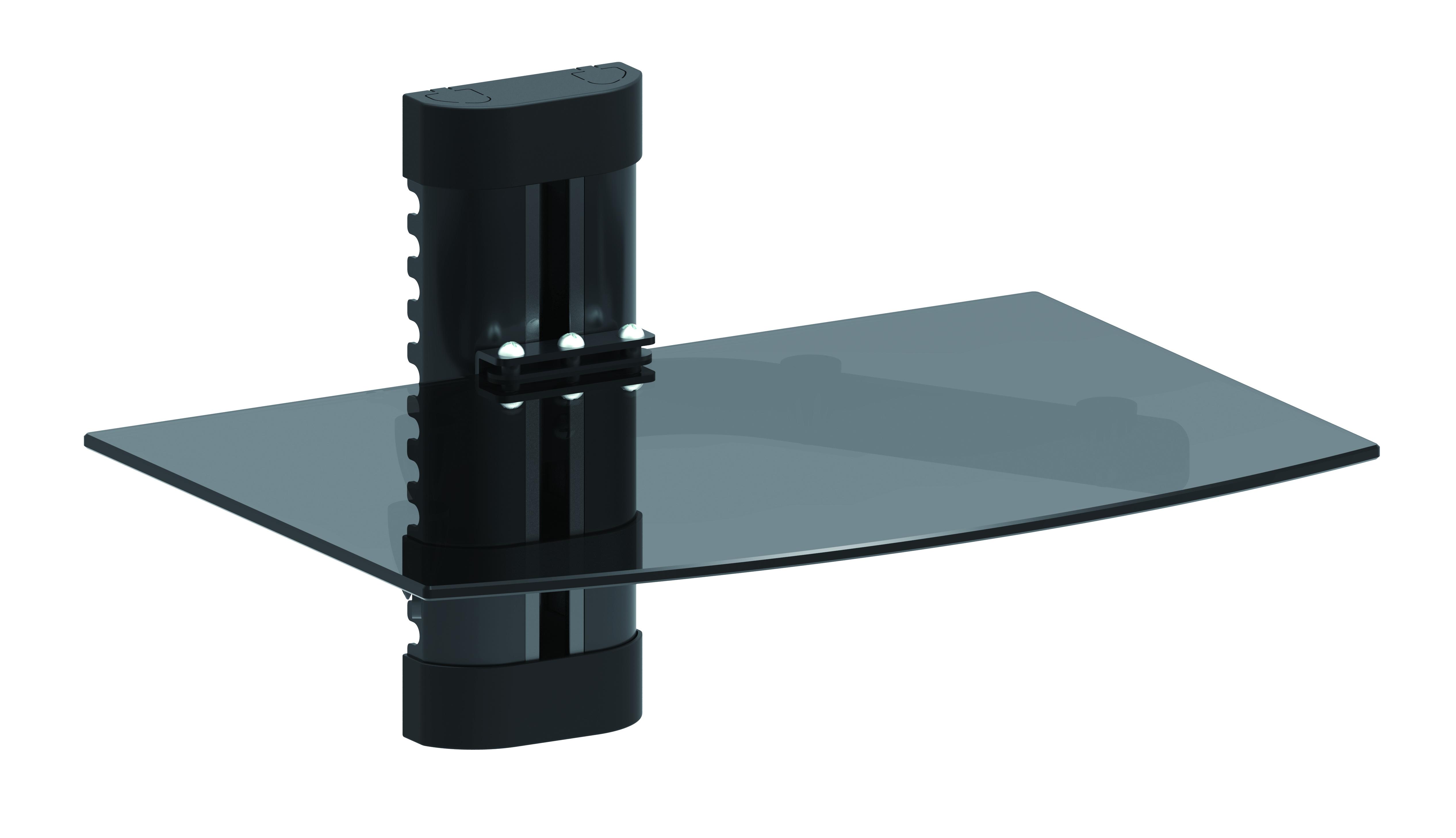 Revez Stb Dvd Receiver Wall Mounted Glass Shelf